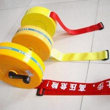 PX-JSD-50米伸缩型锦纶材质盒式安全警示带