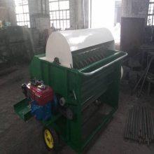陇西毛豆采摘机整机质保 圣嘉大豆脱荚机工作视频