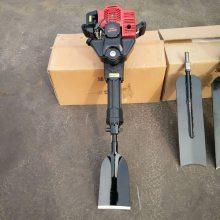 宏兴牌锯齿式挖树机 新款链条起树机 果园起苗机厂家