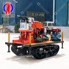 山东巨匠 QZ-50型小型岩心钻机 50米全液压回转式地表取样机