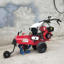 汽油动力小型旋耕松土机 手扶式翻土机 旋耕除草机