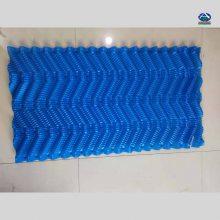 水泥塔淋水填料 塔芯PVC填料片厚执行标准 电厂冷却塔塑料部件更换S波 河北华强
