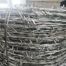 乌海市草原专用刺铁丝镀锌刺绳和铁蒺藜的生产厂家电话