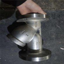 法兰铜过滤器,法兰铜过滤器GL41P,法兰铜过滤器结构尺寸,法兰铜