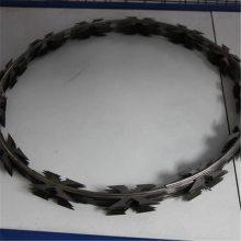 旺来镀锌刀片刺绳 双股刺绳 铁蒺藜是什么