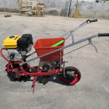 汽油施肥播种机 一行玉米播种机 富民机械
