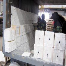国美硅酸铝双面针刺毯渣球含量低,导热系数低
