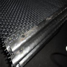 旺来锰钢轧花网 大丝轧花网 不锈钢细丝网