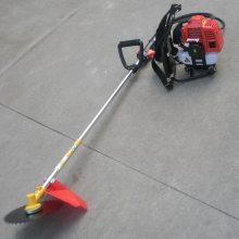 宏兴牌汽油背负式割草机 小型汽油收割机 斜跨式割草机