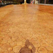 四川压印地坪,西昌彩色混凝土压印地坪,自贡艺术水泥压印地坪