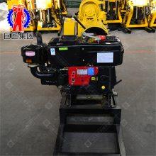 山东巨匠 HZ-130全液压水文地质水井钻机 小型钻井机械设备 130米地表钻机