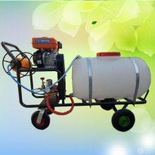 启航牌手推大容量高压喷药机 四冲程汽油打药机 300L农用喷雾器