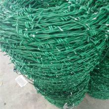 镀锌铁丝刺绳 双股刺线 铁蒺藜 防攀爬刺丝厂家直销
