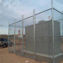 厂区隔离网 铁丝围墙网厂家 勾花网生产厂家