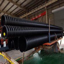 城市排水管网1200mm钢带增强波纹管