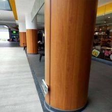 河南郑州铝单板包柱图/包铝板圆柱厂商报价/欧百建材