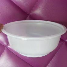 真空封碗机专用卤菜塑料包装碗,pp耐高温梅菜扣肉碗