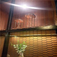 本厂专业生产六角钢板网 装饰钢板网
