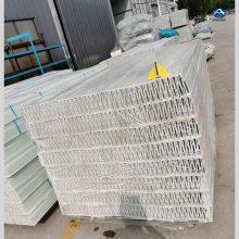 畜牧养殖产业,作为窝棚的支撑梁用 100 玻璃钢防腐空心地板梁 河北华强