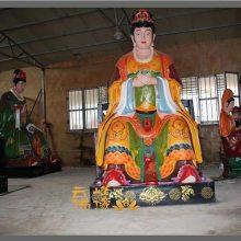 河南云峰佛像雕塑厂供应 1.8米老母 十二老母神像佛像