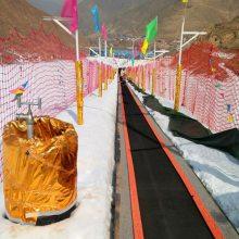 雪地魔毯的结构组成 北京滑雪场魔毯诺泰克