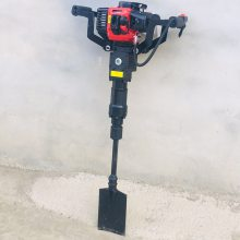 启航牌大功率链式起树机 便携式高效挖树机 汽油挖树机