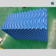 800*750良机填料价格 PVC黑色散热片哪卖 冷却塔淋水片片距 200吨用多少片 河北华强