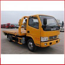 4吨高速清障车厂家价格_5吨平板拖车
