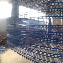 防风降尘板 圆孔网板 抑尘挡风墙