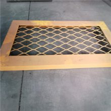 厂家供应不锈钢菱形钢板拉伸网
