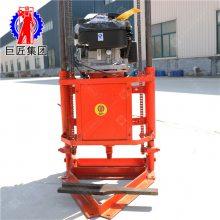 山东巨匠 QZ-2B轻便地表取样机 小型地质勘探钻机 20米地表钻机