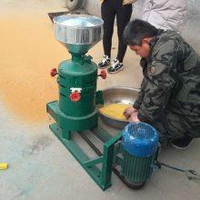 宏兴牌多功能脱皮碾米机 家用电谷子 砂辊碾米脱皮机