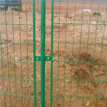 万泰厂家生产双边丝护栏 双边丝护栏规格 浸塑铁丝栅栏