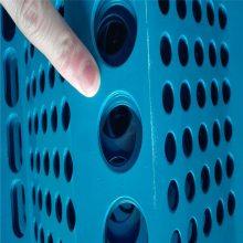 旺来防风抑尘网开孔率 铁板冲孔网 镀锌圆孔网