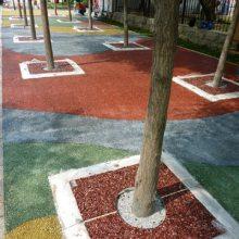 彩色混凝土 彩色透水混凝土 彩色透水混凝土价格 彩色混凝土地坪 彩色透水混凝土施工 彩色混