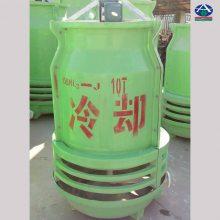 电炉用的20T圆形逆流冷却塔 50T降温凉水塔 40T工艺冷却水塔 河北华强
