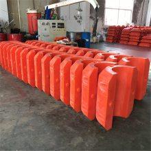 批发全国拦污浮体 海上管线浮体 聚乙烯夹管浮筒
