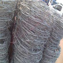 旺来pvc刺绳 刺线夹规格 刺绳滚笼