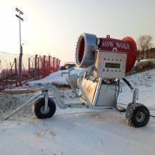 河北人工造雪机 高效率滑雪场造雪机省预算