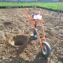 手提式挖坑机型号 栽树挖坑机 富民机械