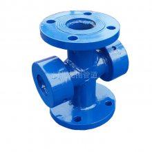 供应DN100 PN2.5法兰水流指示器 水流指示器带叶轮