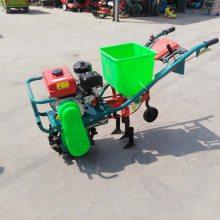 玉米地专用施肥机 轻便式施肥机 富民牌