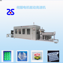 上海展仕全自动电脑控制高速吸塑机