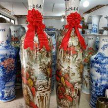 陶瓷一米四大花瓶价格 高度1.6米1.8米2米景德镇花瓶批发