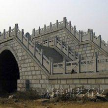鼎艺石业常年制作河道桥梁石雕栏杆 石材栏板 防护栏