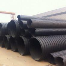 雨水泥浆排放管道,1400mmHDPE钢带波纹管厂家