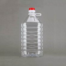 山东5升透明豆腐乳塑料桶5kg芝麻酱塑料桶 山东塑料桶批发