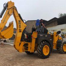 中首重工两头忙挖掘机,挖掘直径2米,前产后挖质优价廉