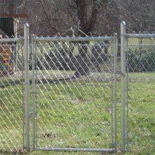 旺来护栏勾花网 篮球场围网 体育场包塑勾花网