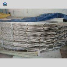 折流板除雾器 脱硫塔收水器 华强150-30带钩聚丙除雾器